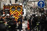 talačka kriza Pariz, EPA -YOAN VALAT