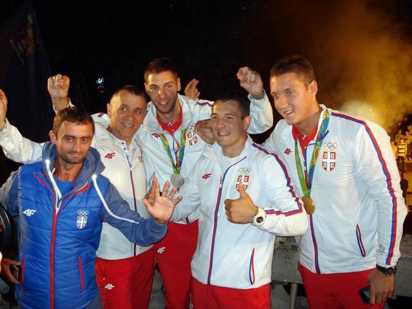 Doček Olimpijaca u Nišu