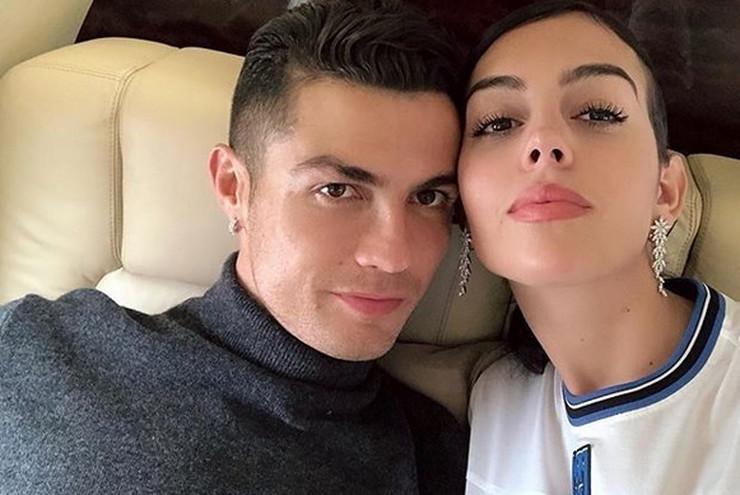 Kristijano Ronaldo, Georgina Rodrigez