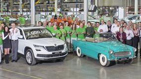 Skoda wyprodukowała 2 mln auto w Kvasinach
