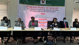 Lagos Judicial Panel receives autopsy reports of 99 persons killed during #EndSARS protests in the state (Arise news)