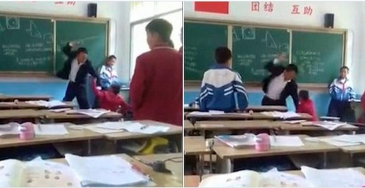 Kina, profesor, batine, sc ostalo