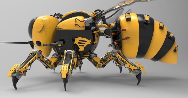 robot pcela
