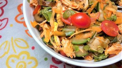 The perfect Kenyan vegetable Salad [not Kachumbari]