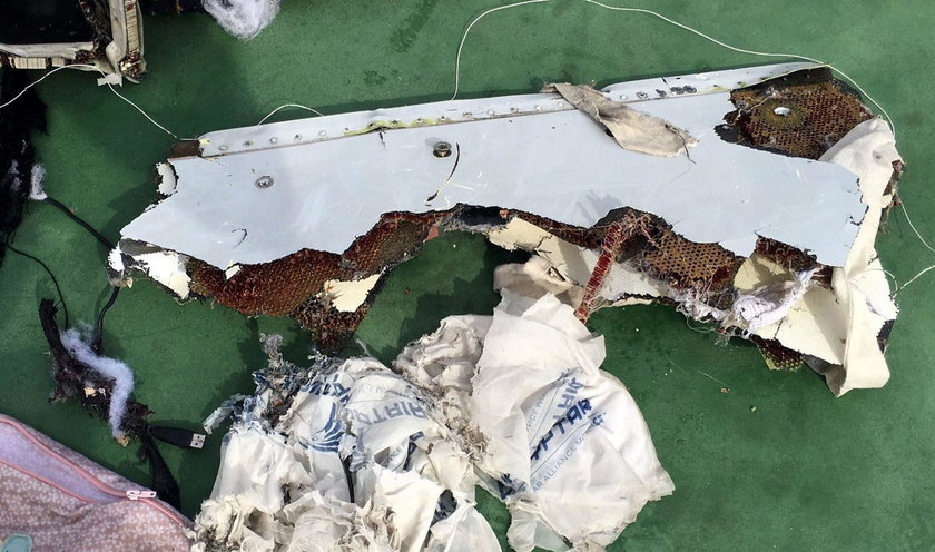 Szczątki Airbusa wydobyte z Morza Śródziemnego