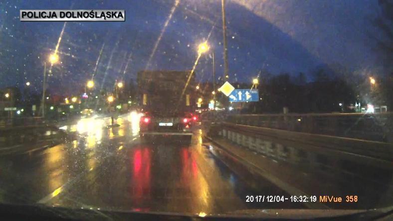 Kierowca stracił prawo jazdy