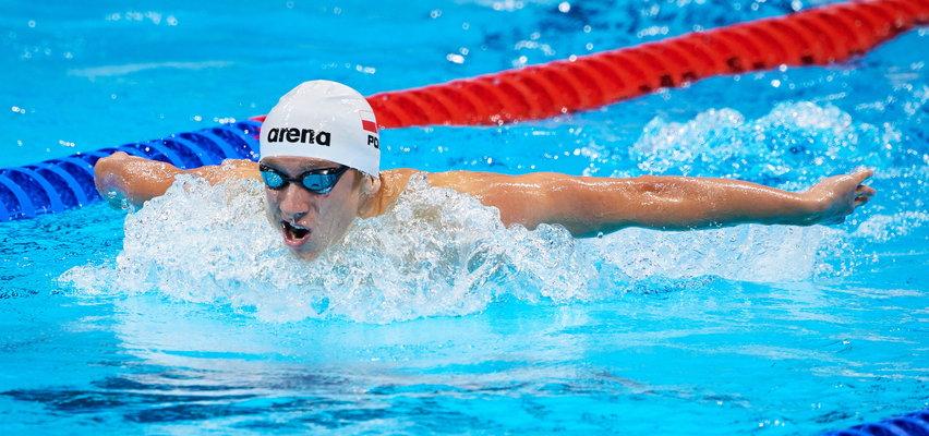 Pływak Krzysztof Chmielewski. Młody wraca z podniesioną głową