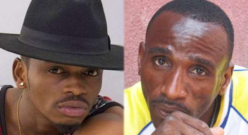 Diamond and his Father. Mzee Abdul asks Diamond for forgiveness