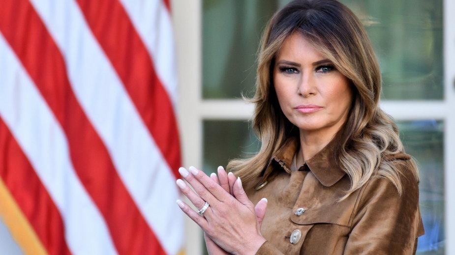 Melania Trump dziękuje Amerykanom i łamie wieloletnią tradycję