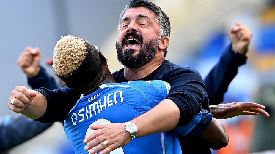 Gennaro Gattuso i Victor Osimhen