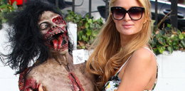 Paris Hilton gotowa na Halloween