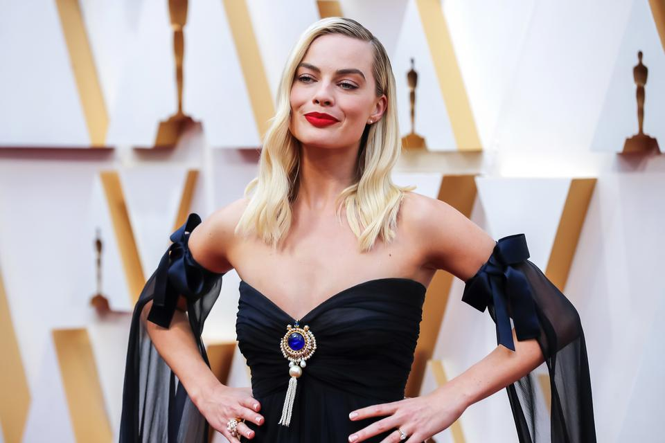 Margot Robbie w sukni Chanel