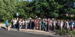 Likwidacja autobusu 62 A. Jest protest mieszkańców osiedla Ruda w Łodzi