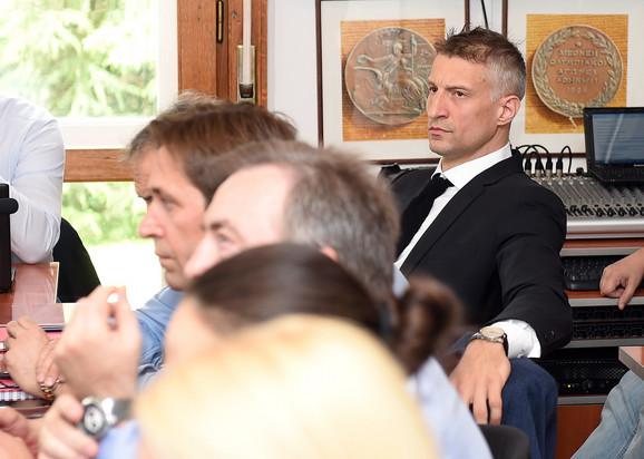 Ivan Miljković, predsednik Sportske komisije OKS