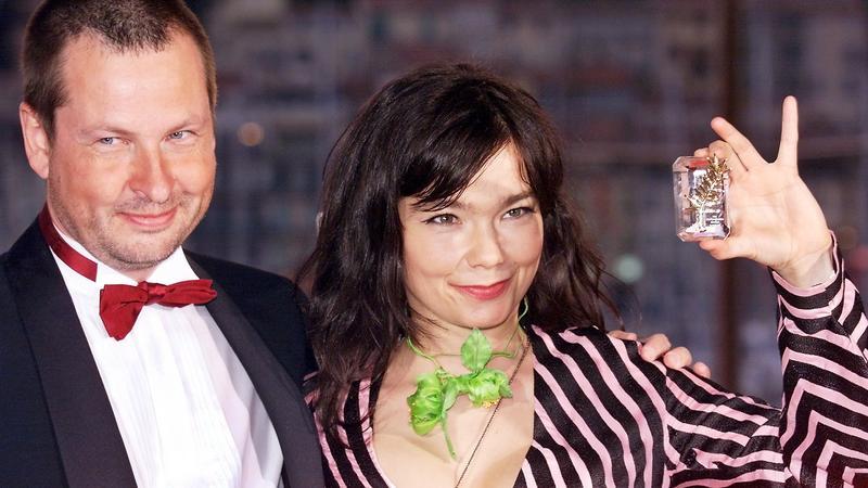 Bjork i Lars von Trier w Cannes w 2000 roku