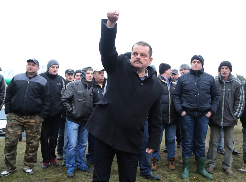 Rolnicy wracają do Warszawy