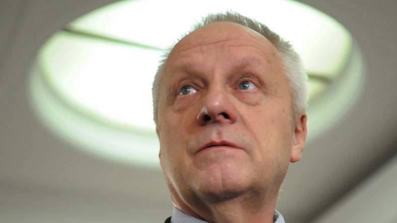 Jarosław Kaczyński twierdzi, że Stefan Niesiołowski nie jest święty i sypał kolegów