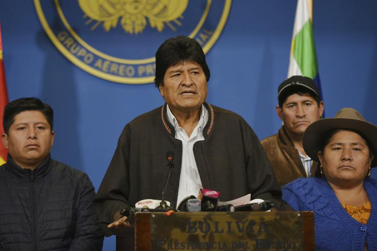 Evo Morales, Bolivija