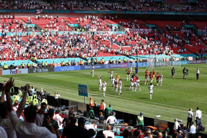 11 lipca na Wembley, na trybunach stadionu, będzie mogło zasiąść najprawdopodobniej 45 tysięcy kibiców, co oznacza zapełnienie 50 procent pojemności obiektu.