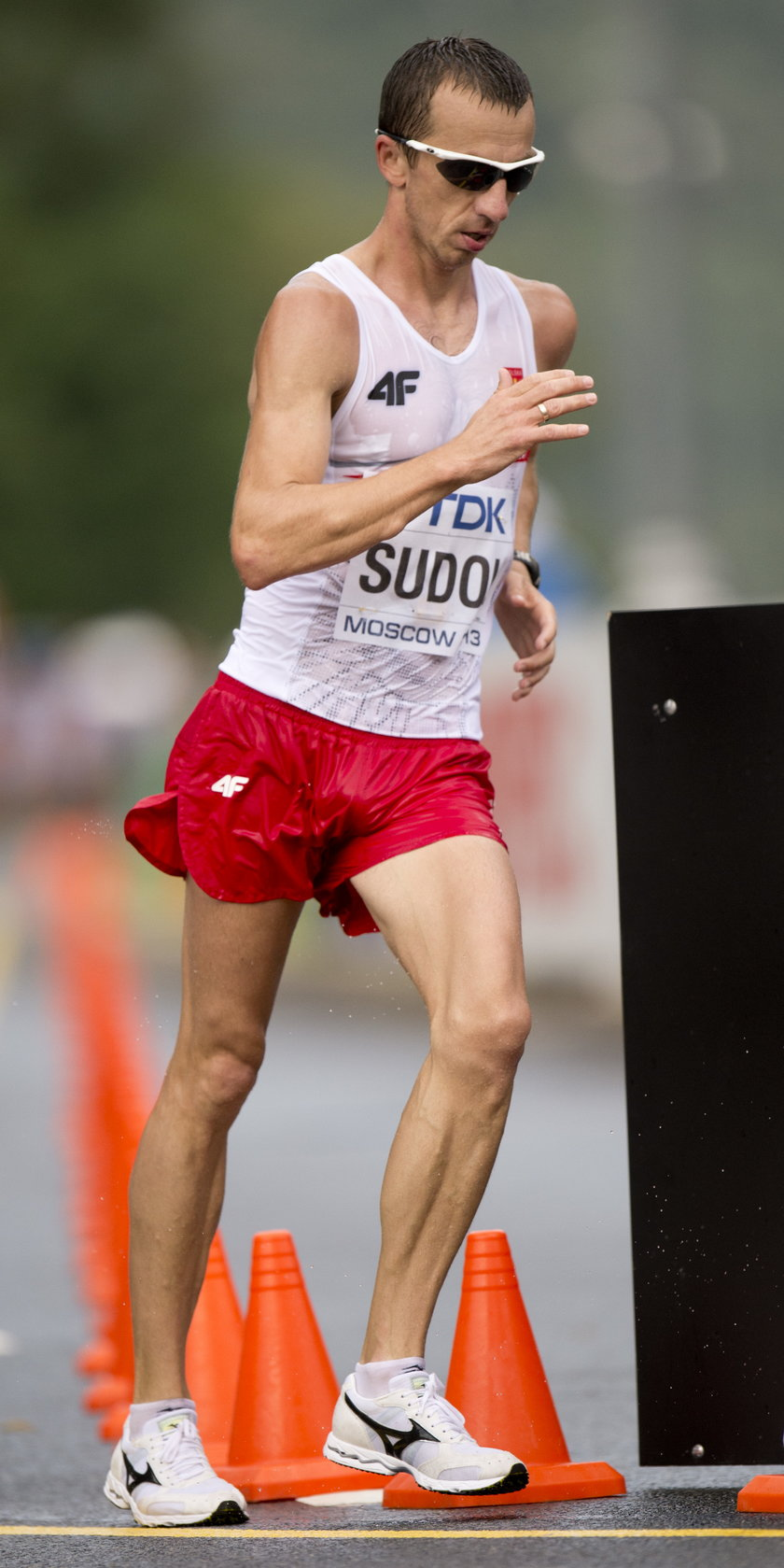 Grzegorz Sudoł to jeden z najlepszych chodziarzy świata