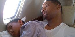 Smith opiekuńczym ojcem. FOTO