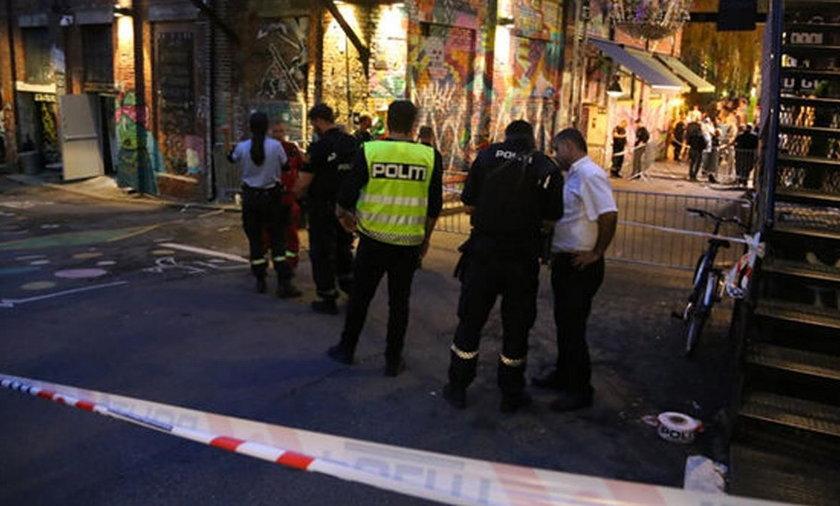 Strzelanina w nocnym klubie w Oslo
