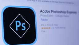 Photoshop app logo app store
