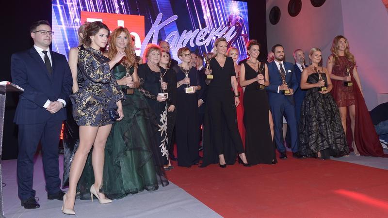 """Telekamery """"Tele Tygodnia"""" 2017 - laureaci"""