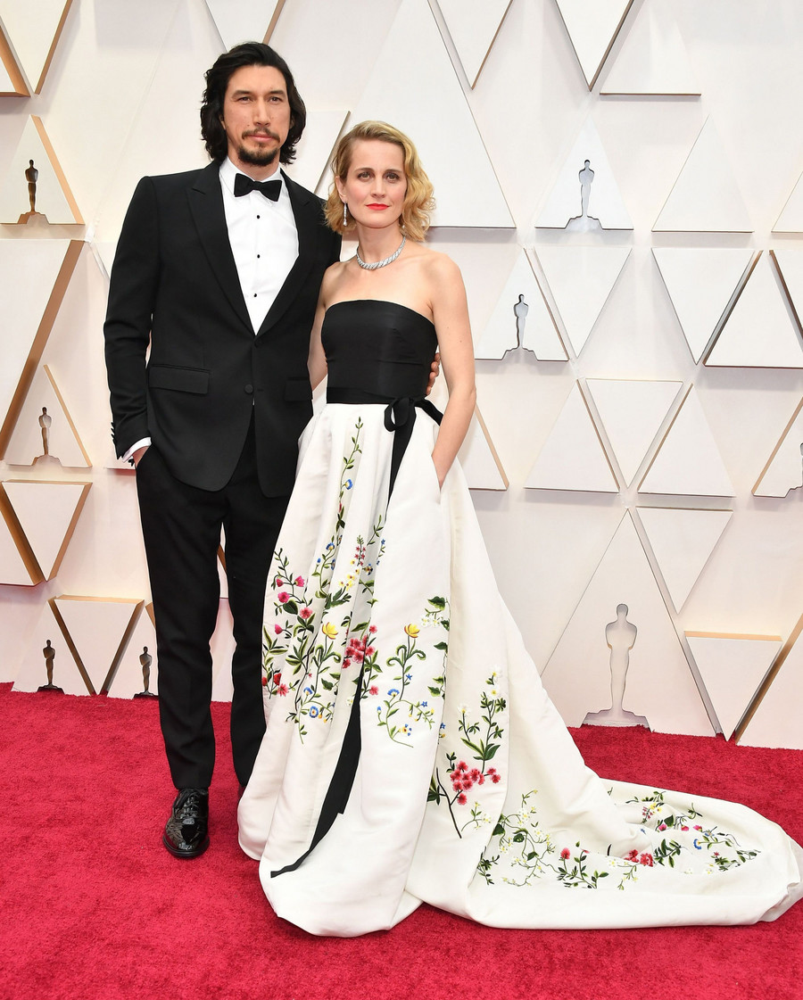 Adam Driver i Joanne Tucker  / Amy Sussman/Getty AFP/East News