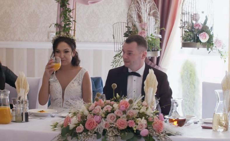 """""""Boda a primera vista"""".  Kasia y Pawe en la boda"""
