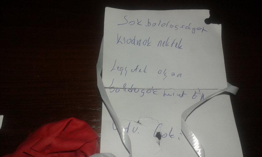 List w baloniku