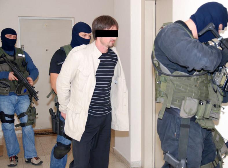 Rosyjski morderca wpadł w Warszawie