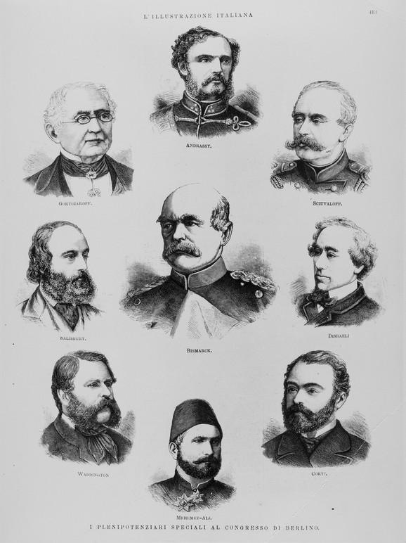 Učesnici Berlinskog kongresa