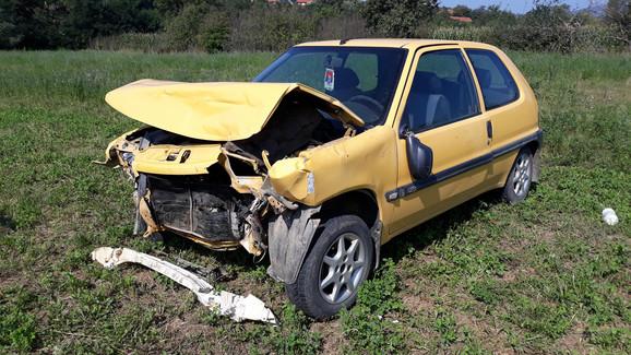 Automobil u kom je stradala trudnica
