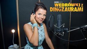 Wonderbook: Wędrówki z Dinozaurami - Joanna Jabłczyńska w roli narratora