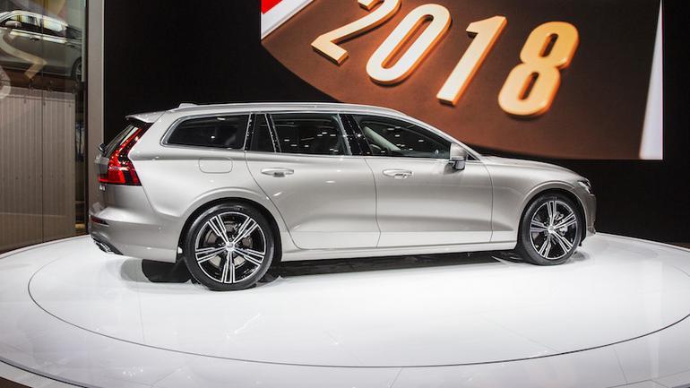 Volvo V60 – Genewa 2018