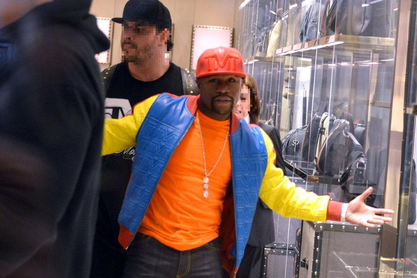 Floyd Mayweather Jr. wybrał się na zakupy do Londynu