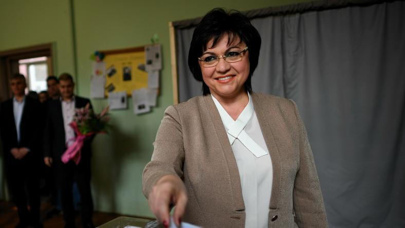 Kornelia Ninova, lider Bułgarskiej Partii Socjalistycznej (BSP)