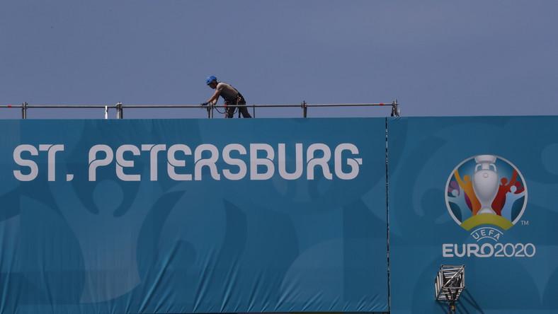 Sankt Petersburg przed Euro