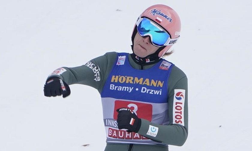Dawid Kubacki niebawem będzie bronił w Seefeld tytułu mistrza świata na normalnej skoczni