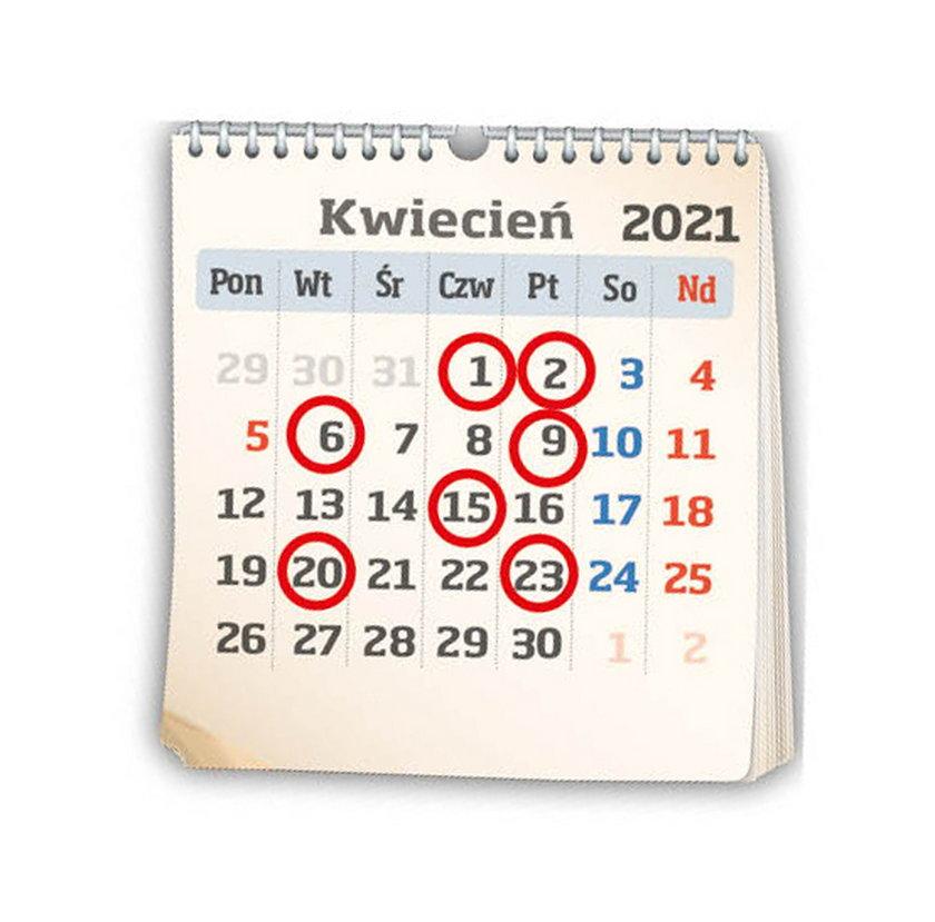 Trzynasta emerytura - kalendarz wypłat 2021.