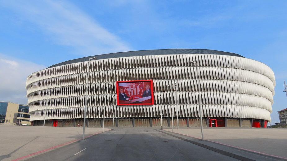 Stadion San Mames w Hiszpanii