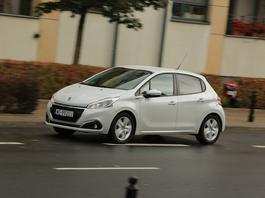 Peugeot 208 1.2 PureTech - tylko dla spokojnego kierowcy