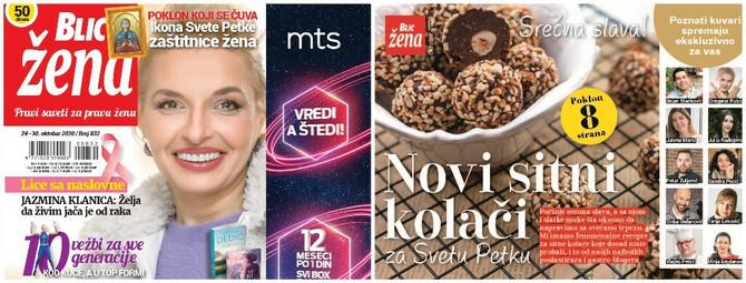 Kolač za Draganine čiz kocke sa borovnicama pronaći ćete u Blic ženi koja je na kisocima od 24. oktobra