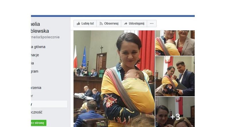 Nie wszyscy są zachwyceni tym, że pani poseł pojawiła się w Sejmie z córeczką.