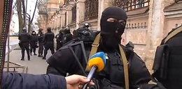 Dziennikarz pyta Berkutowców: czemu strzelacie?!