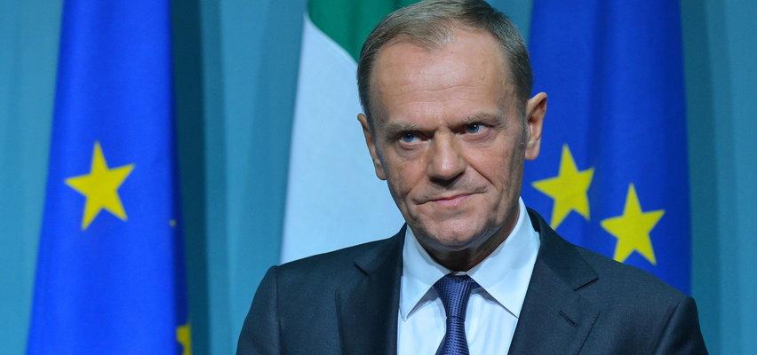 Tusk wzywa do demonstracji w obronie Unii Europejskiej