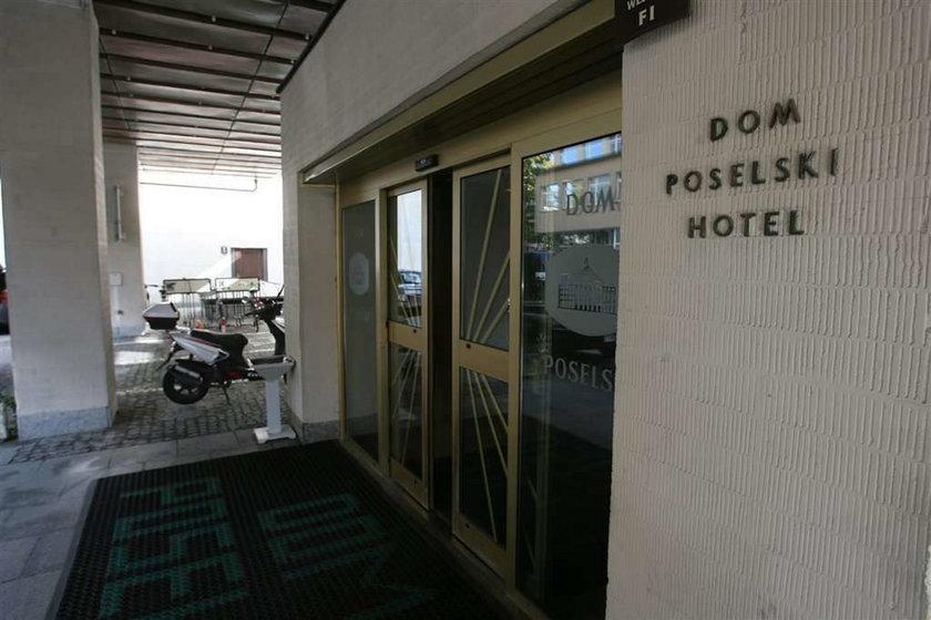 hotel, sejmowy, dom poselski