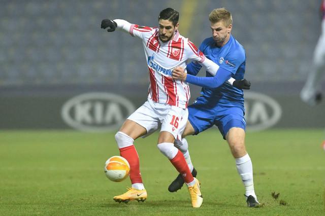 Dijego Falćineli na meču Slovan Liberec - FK Crvena zvezda