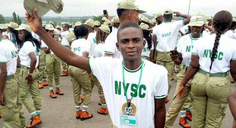 A typical NYSC camp in Nigeria (Twitter: @Atisonnet)